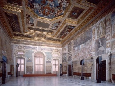 Hall in the Castle of Udine, Friuli