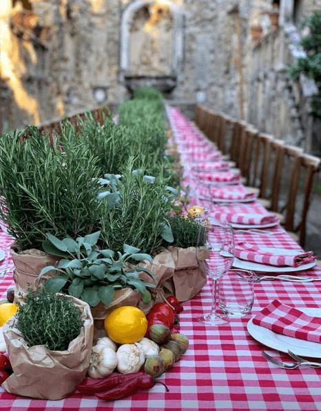 moodboard wedding in tuscany