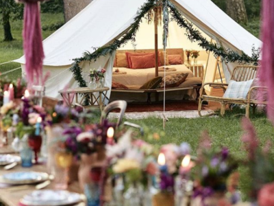 teepees wedding in italy
