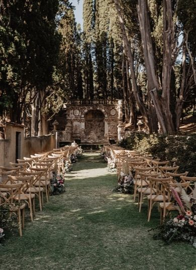 wedding ceremony in tuscany - different design