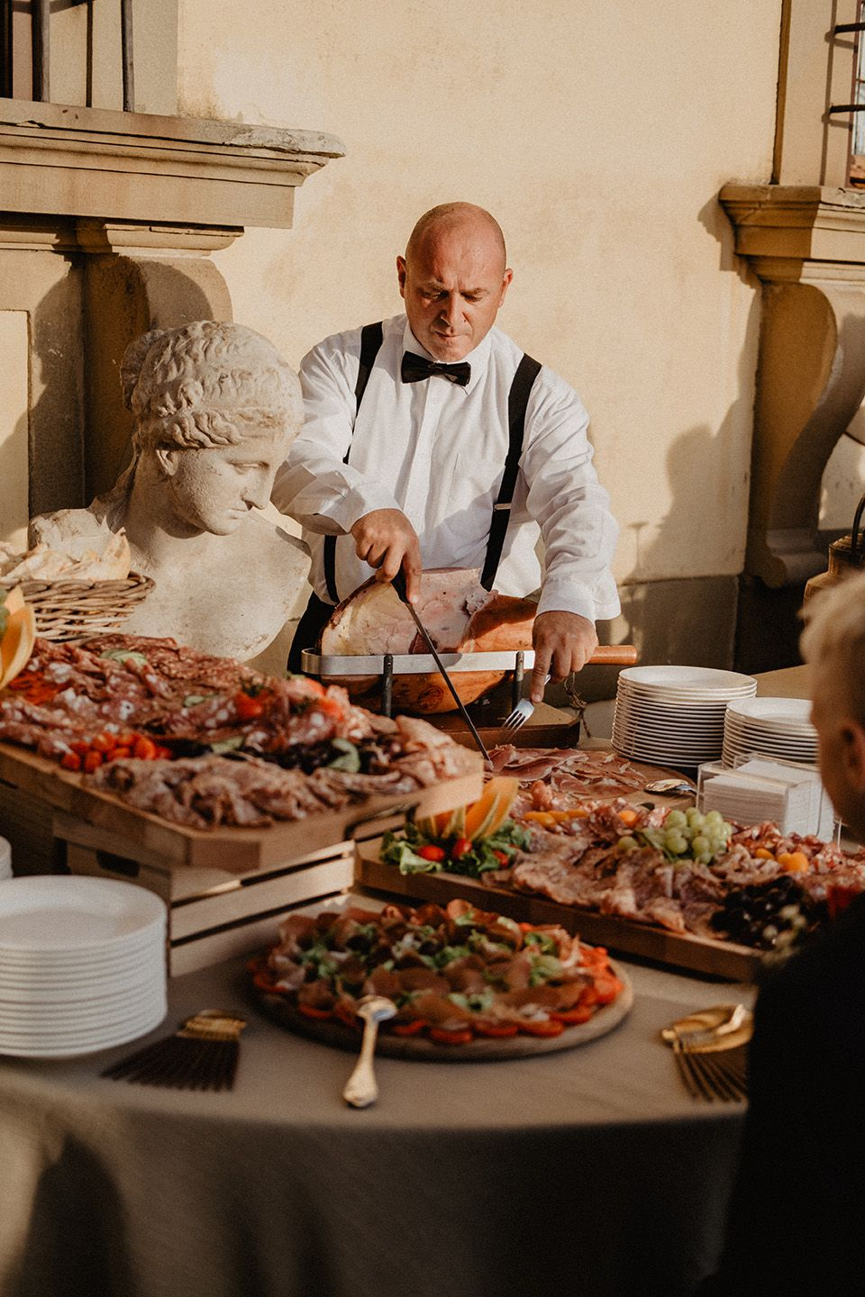 luxury catering in italy for destinationwedding
