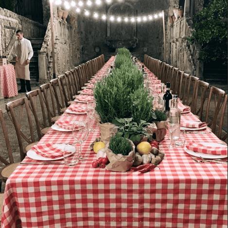 moodboard wedding in italy